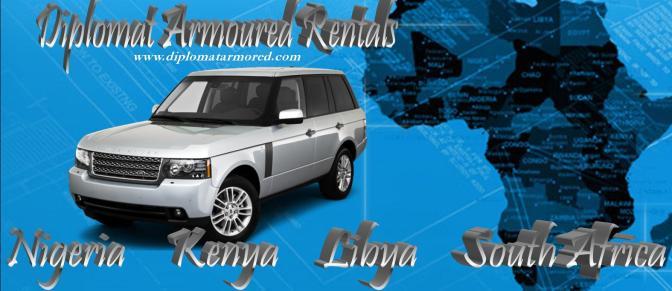 Diplomat Armoured Rentals